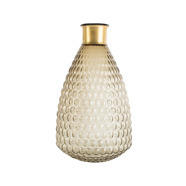 Vase med gullkant 370 kremmerhuset