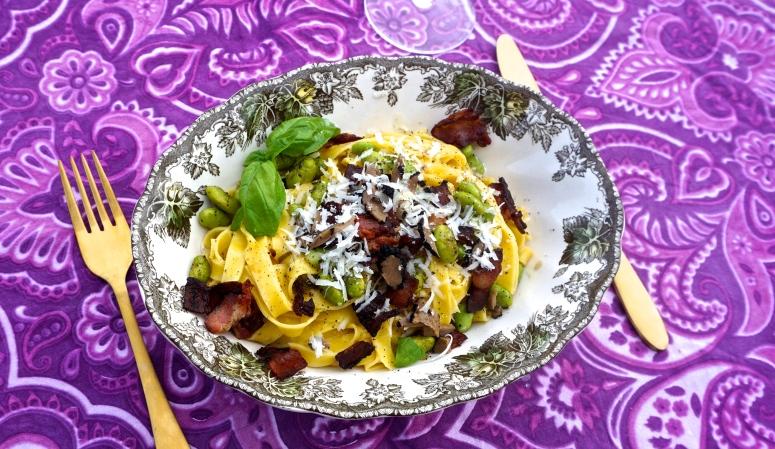 pasta med trøffel