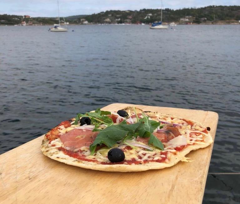 pizza i båt